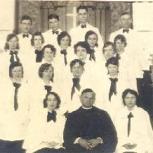 Pastor Kopanko and Choir